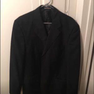 Men's Black Pierre Balmain coat